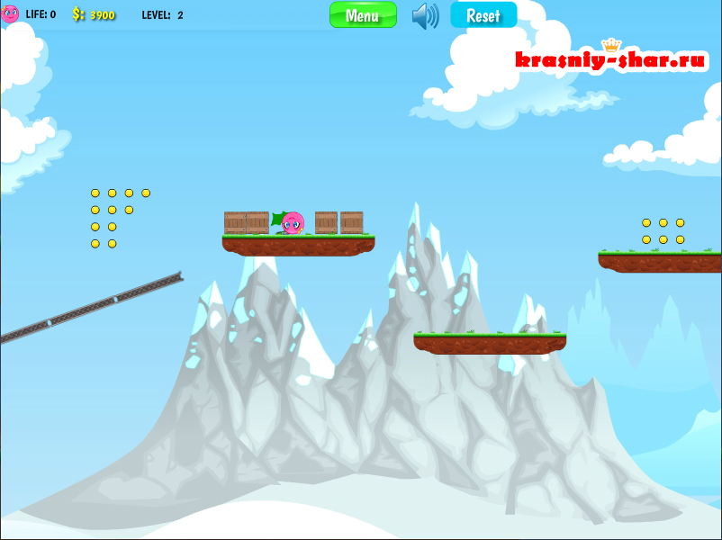 Онлайн игра «Красный Шар 4»