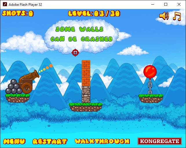 Онлайн игра «Красный шар 9»