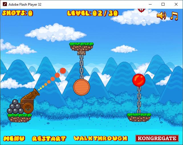 Игра «Красный шар 9»
