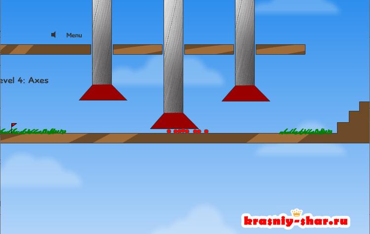 Онлайн игра Красный шар 1