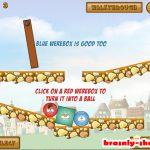 Онлайн игра «Красный мяч 7»