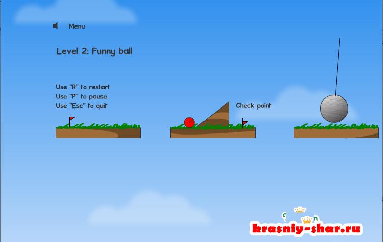 Онлайн игра «Red Ball 1»