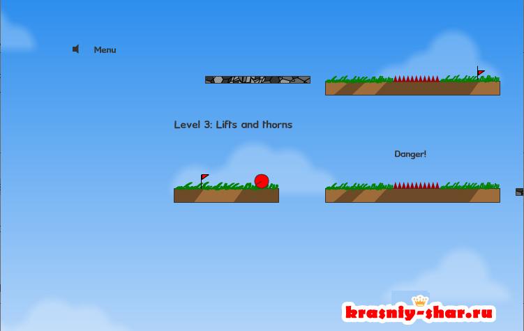 Онлайн игра Red Ball 1