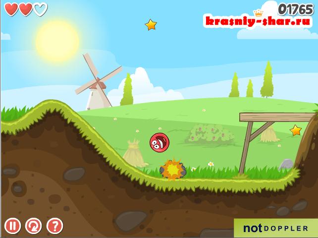 Онлайн игра Red Ball 2