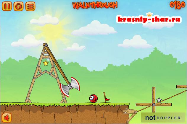Бесплатная онлайн игра «Red Ball 3»